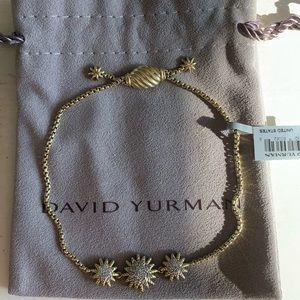 David Yurman Jewelry - Starburst Three-Station Bracelet with Diamonds